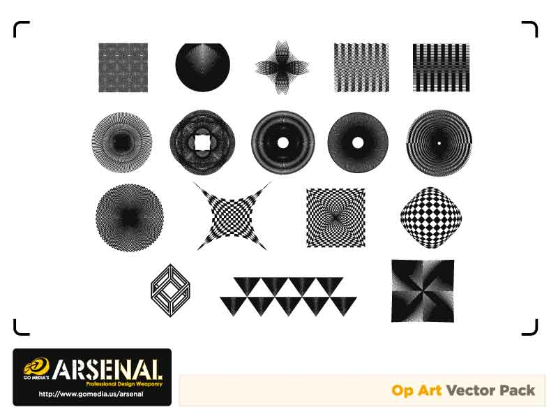 free vector Go media produced vector the trend set15opart